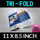 Company Brochure Tri-Fold TemplateVol.9 - GraphicRiver Item for Sale