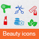 Beauty Icons - GraphicRiver Item for Sale