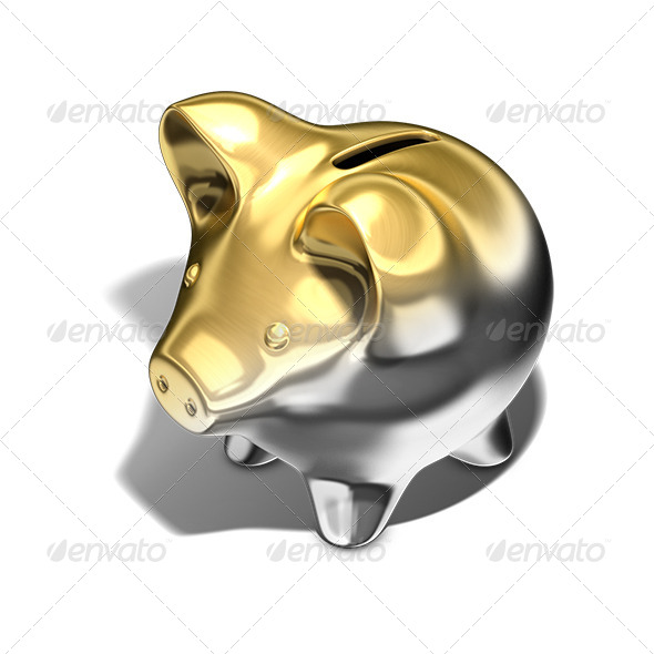 GraphicRiver Pig Bank 7617446