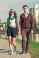 Young fashion elegant stylish Hipster couple - PhotoDune Item for Sale