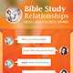Relationships Bible Study: Church Flyer Template - GraphicRiver Item for Sale