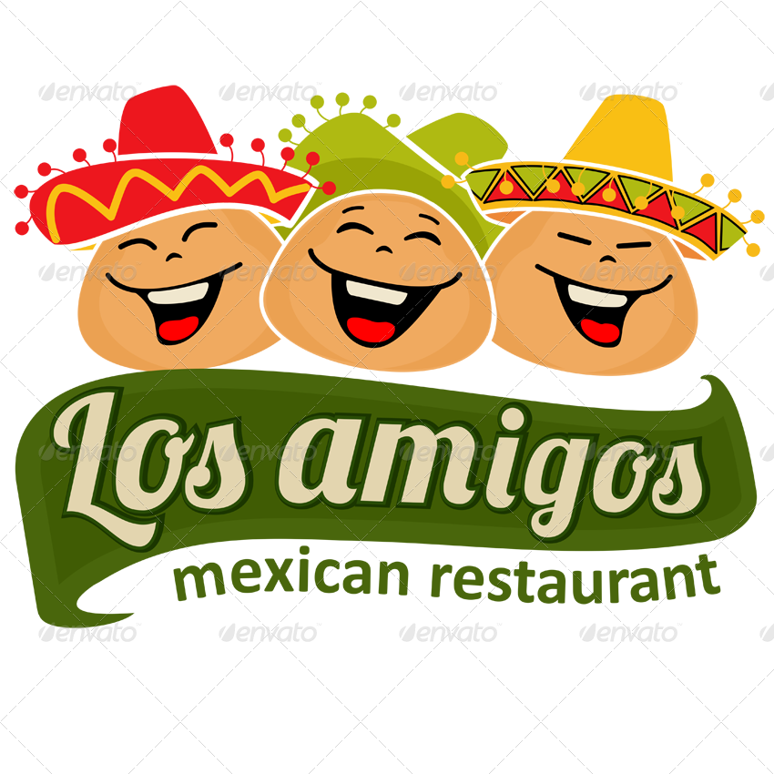 9 mexican vector badges emblems and logos by ragerabbit for Mexican logos pictures