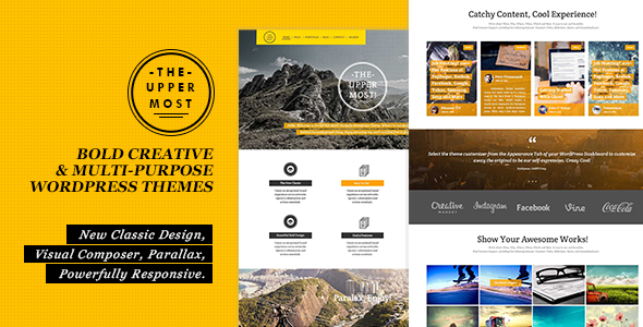 ThemeForest Uppermost Bold Creative & Multipurpose WP Theme 7514686