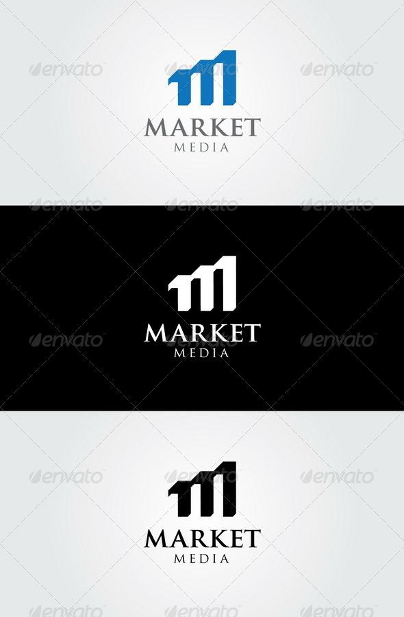 GraphicRiver Market Media Logo Template 7619579