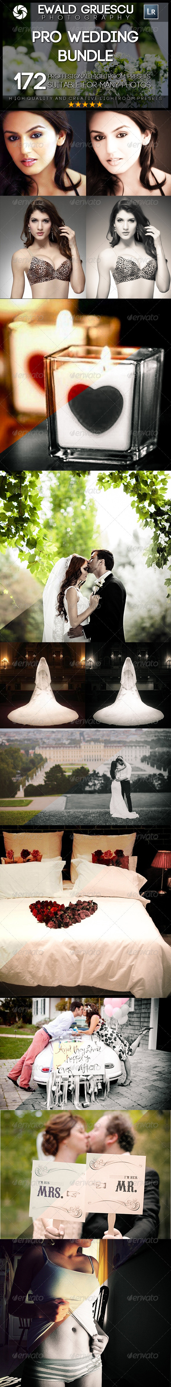 GraphicRiver 172 PRO Wedding BUNDLE 7619607