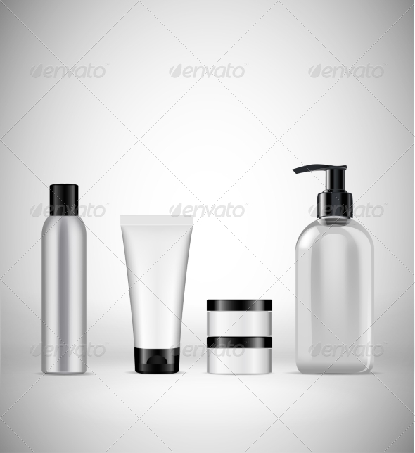 GraphicRiver Blank Cosmetics Packaging 7621771