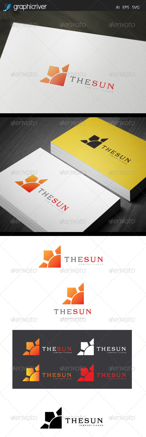 GraphicRiver The Sun Logo 7621977