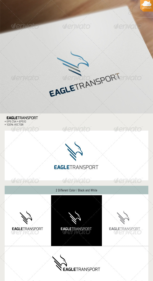 GraphicRiver Eagle Transport 7622696