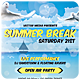 Summer Break - Flyer - GraphicRiver Item for Sale