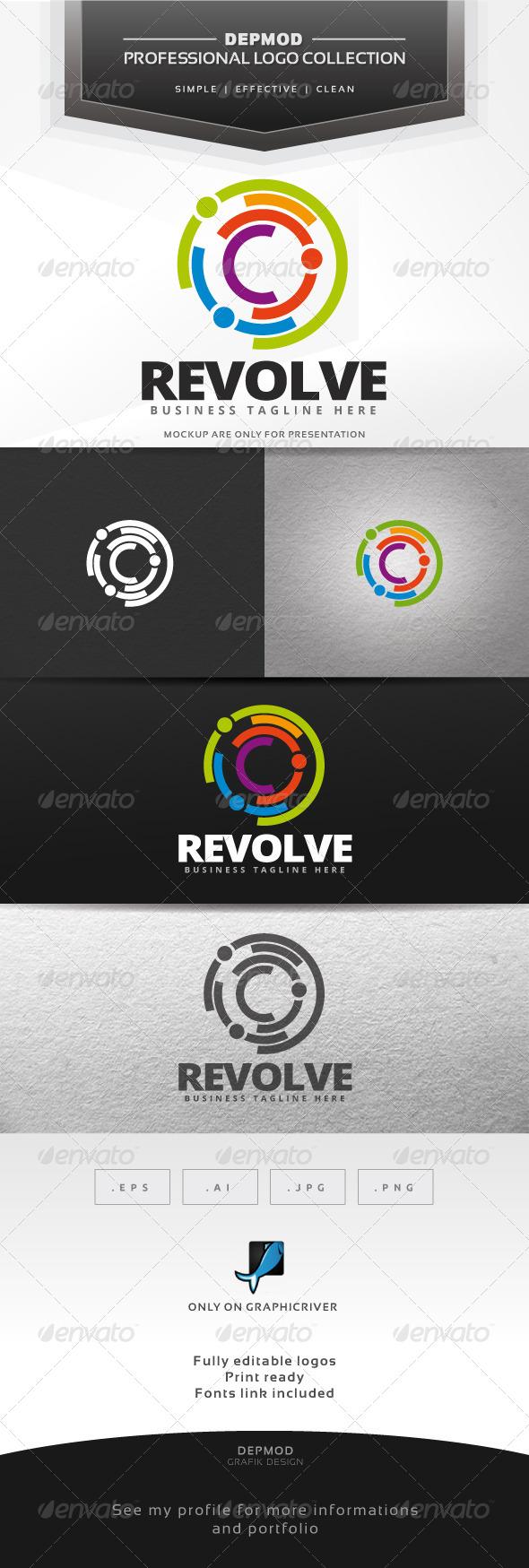 GraphicRiver Revolve Logo 7625963