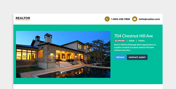 Realtor - Real Estate Landing Page