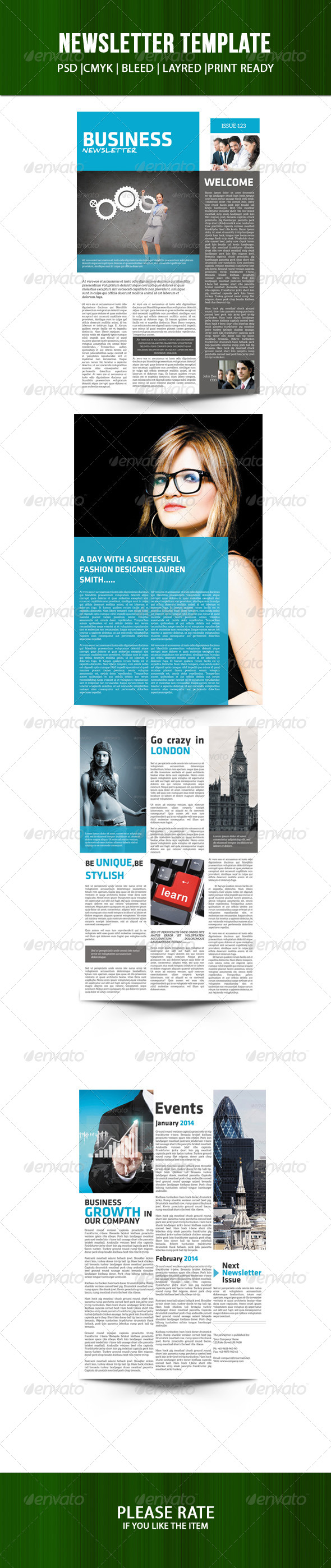GraphicRiver Business Newsletter 7626728