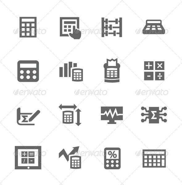 GraphicRiver Calculation Icon 7627069