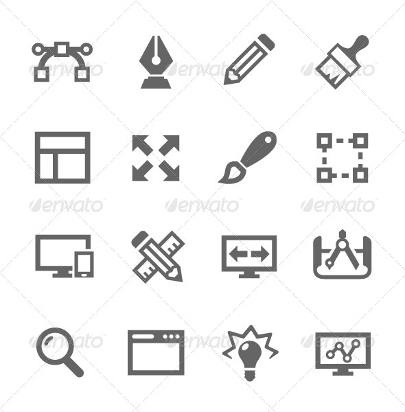 GraphicRiver Design Icons 7627449