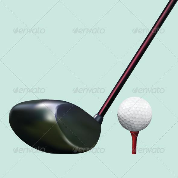 GraphicRiver Golf Equipment 7627889