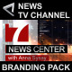 Broadcast Design News TV Channel Branding Package - VideoHive Item for Sale