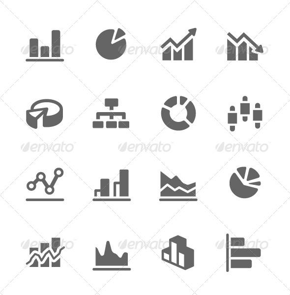 GraphicRiver Graph and Diagram Icon Set 7627935