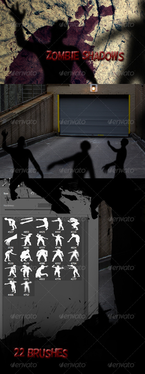 GraphicRiver Zombie Shadows 7573941