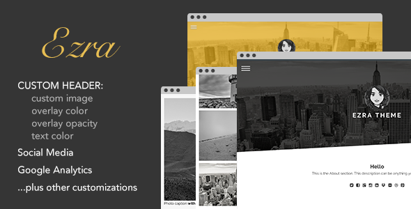 ThemeForest Ezra Tumblr Theme 7367315