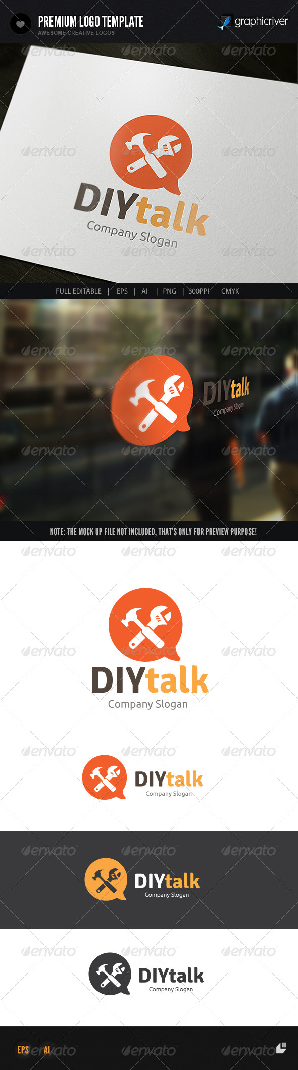 DIY Talk - Buildings Logo Templates