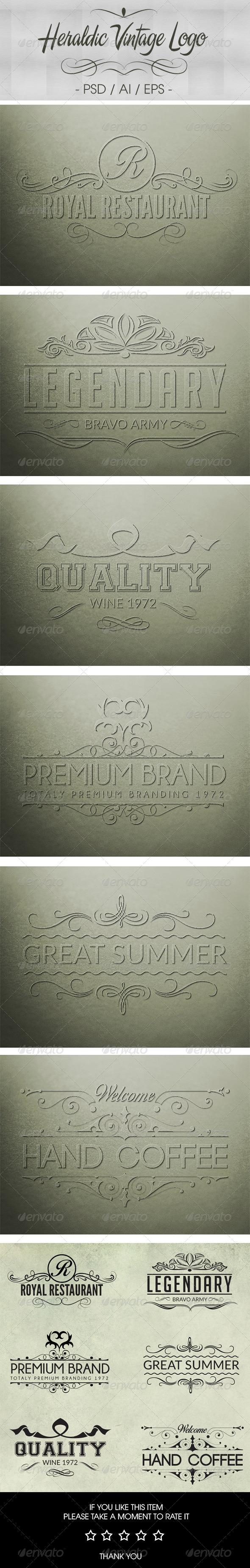 GraphicRiver Heraldic Logos VOL 01 7614220