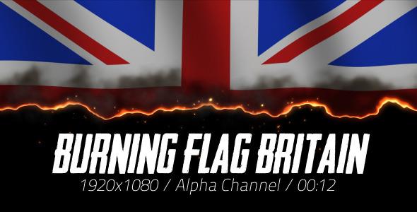 Burning Flag Britain 2