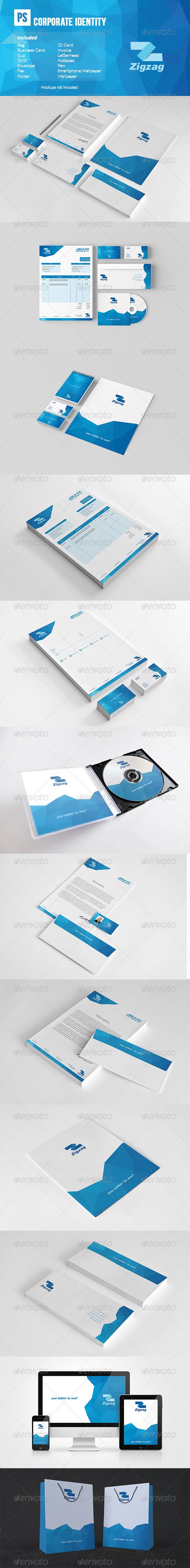 GraphicRiver Corporate Identity 7629942