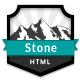 Stone OnePage Multipurpose - HTML - ThemeForest Item for Sale