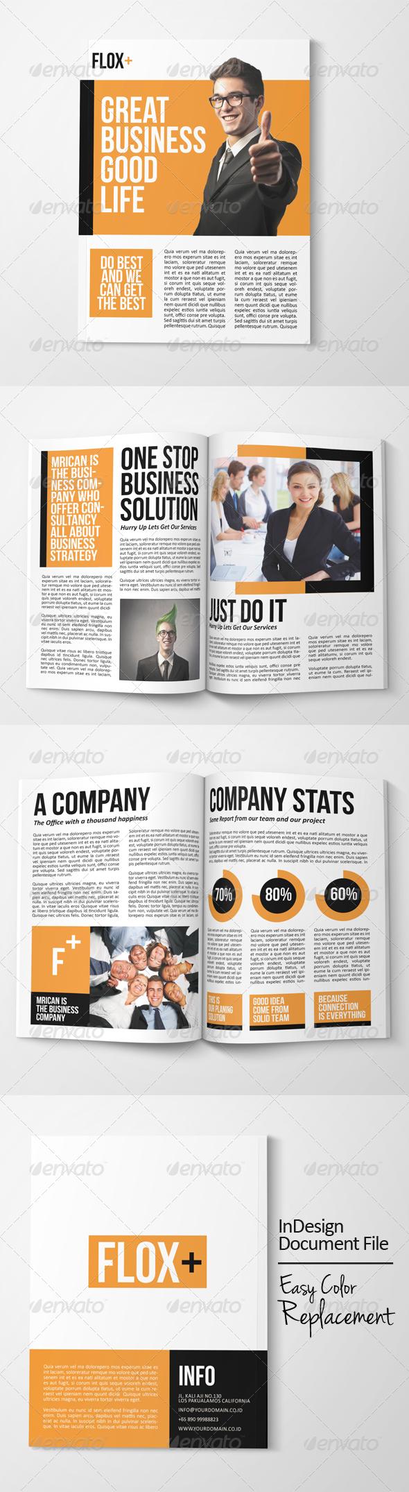 GraphicRiver Corporate Brochure 7630126