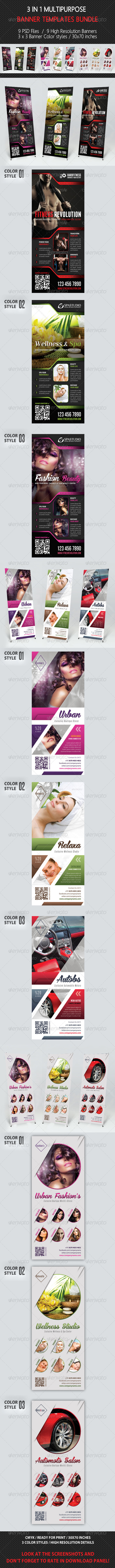 GraphicRiver 3 in 1 Multipurpose Banner Bundle 01 7630216