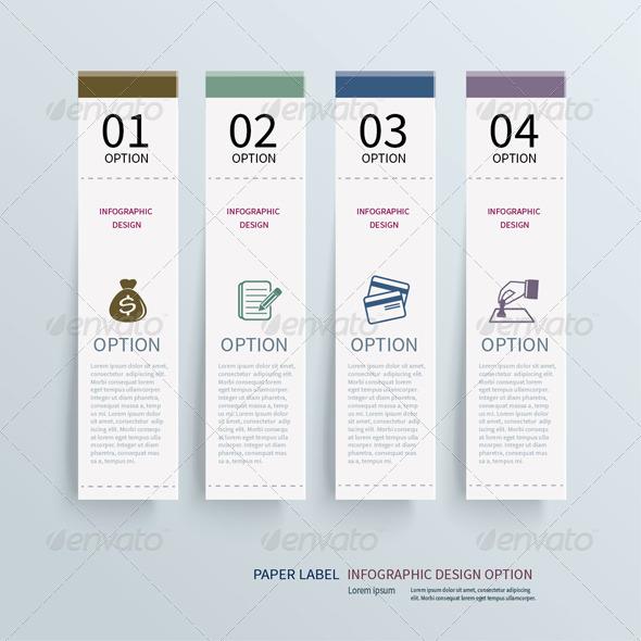 GraphicRiver Abstract Design Tab Element Template 6884530