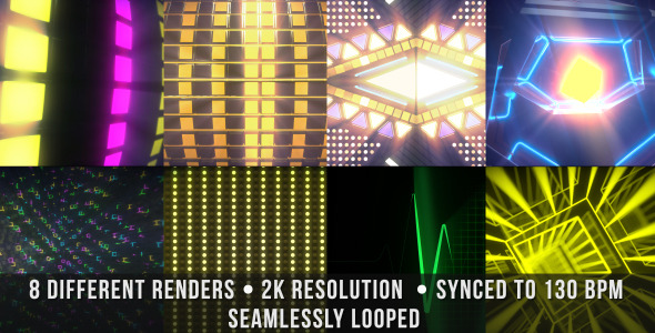 VJ Beats Screen Elements 2