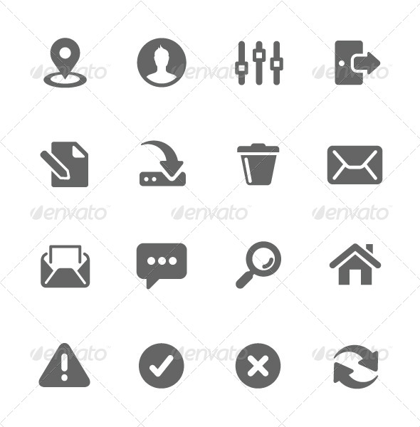 GraphicRiver Interface Icons 7630446