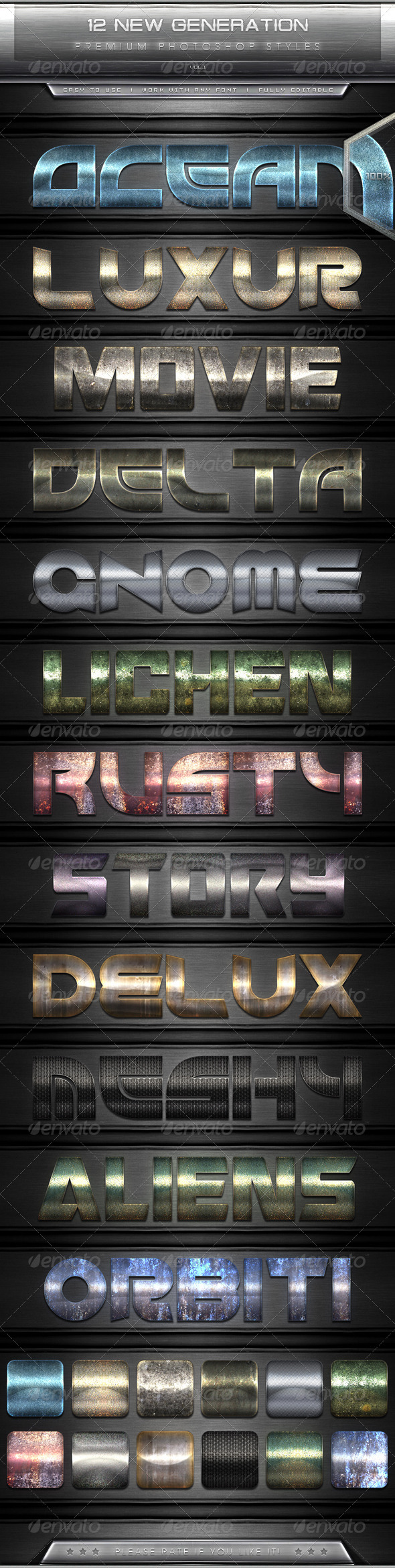 GraphicRiver 12 New Generation Text Effect Styles Vol.1 7630718