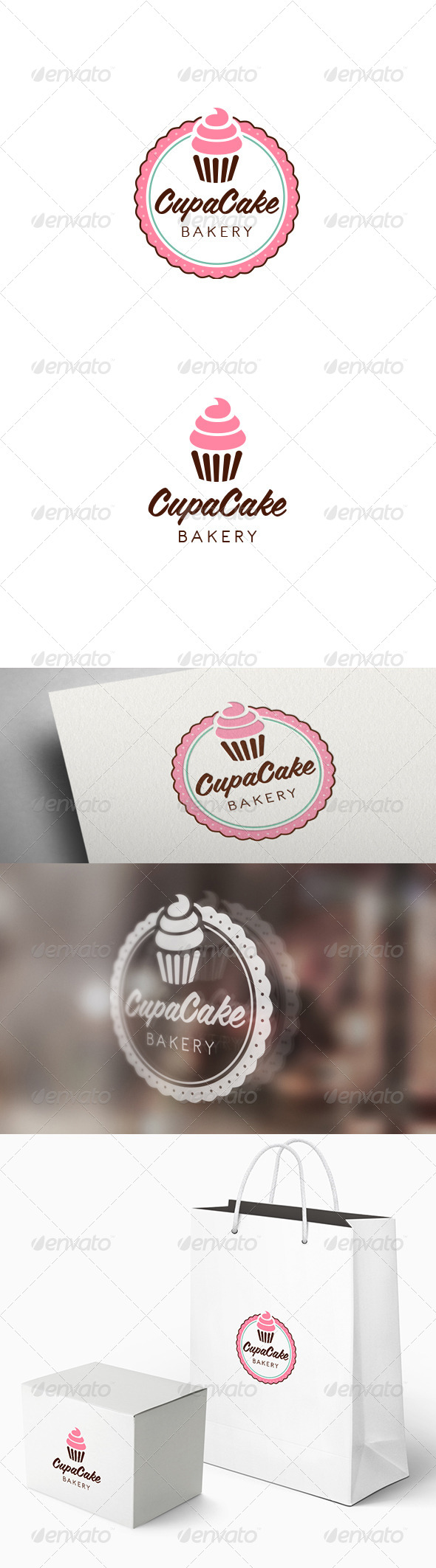 GraphicRiver Cupacake Logo Template 7617099
