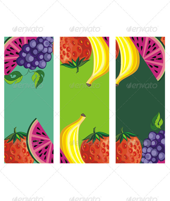 GraphicRiver Fruits 7631483