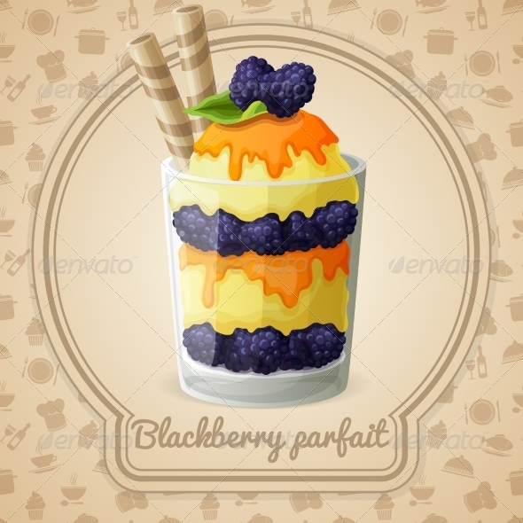 GraphicRiver Blackberry Parfait Badge 7631605