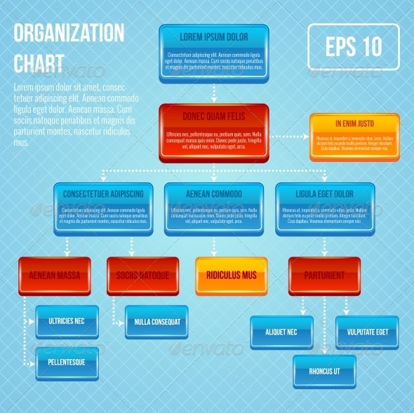 GraphicRiver Organizational chart 3D concept 7631749