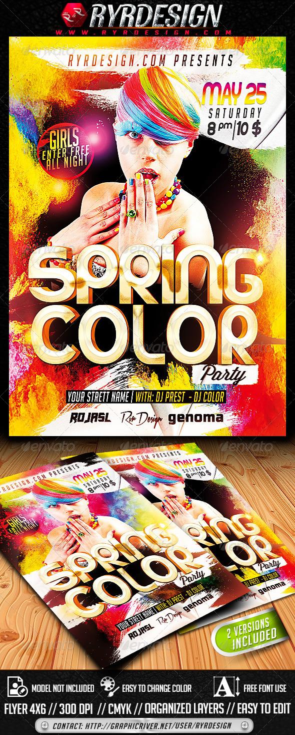 GraphicRiver Spring Color PSD 7632679