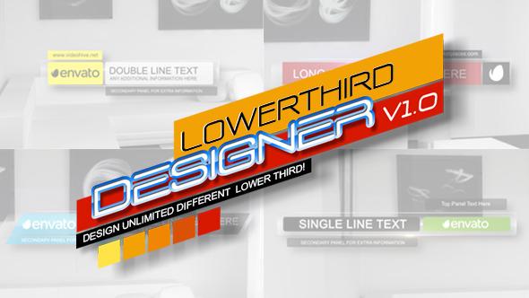 Lower Third Designer v 1.0