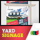 Modern Real Estate Yard Signage 11 + Riders - GraphicRiver Item for Sale