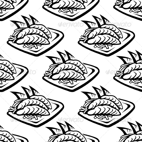GraphicRiver Japan Food Seamless Pattern 7634160