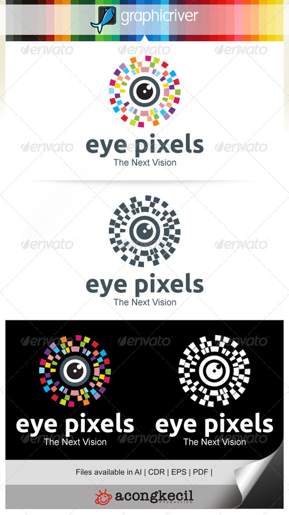 GraphicRiver Eye Pixels 7634289