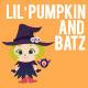 Cartoon Character - Lil Pumpkin and Batz - GraphicRiver Item for Sale
