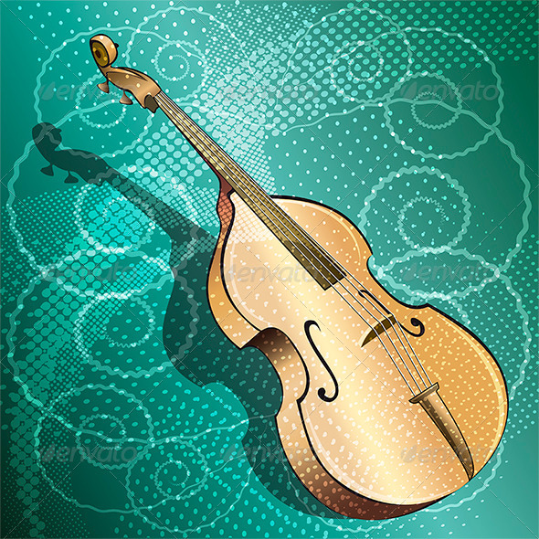 GraphicRiver The Double Bass 7634324