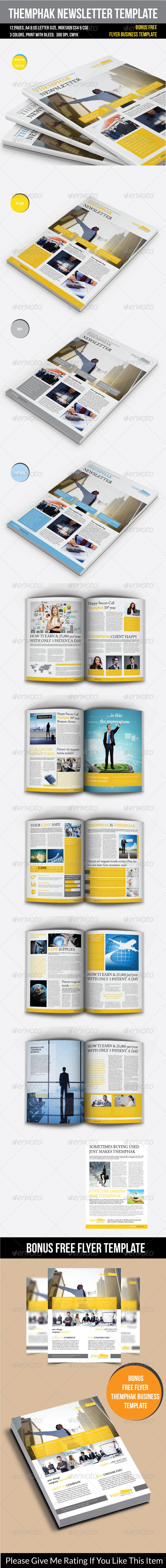 GraphicRiver Themphak Newsletter Template 7634398