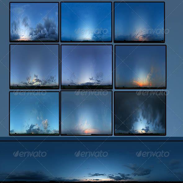 3DOcean Skies Pack 7634647