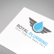 Royal Plumbing Logo Template - GraphicRiver Item for Sale
