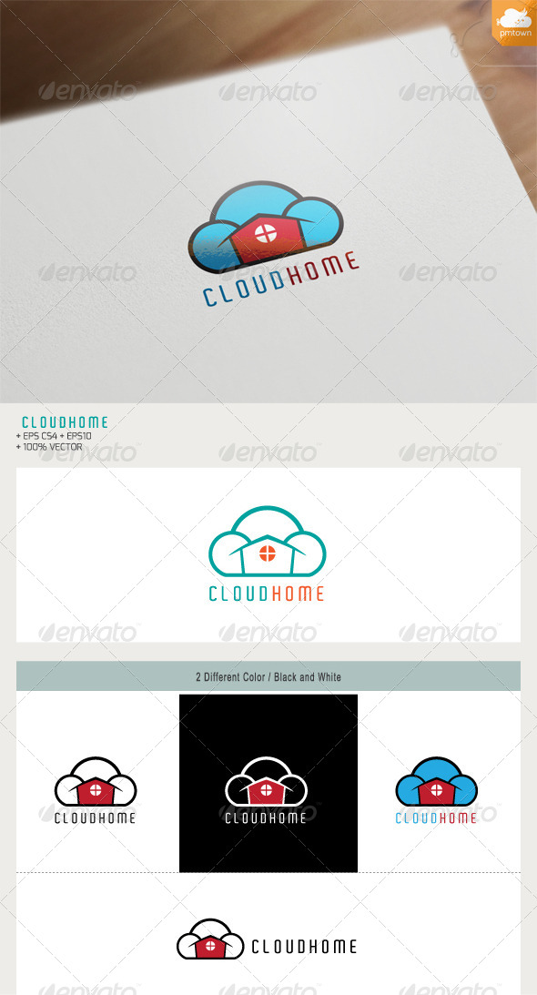 GraphicRiver Cloud Home 7635032