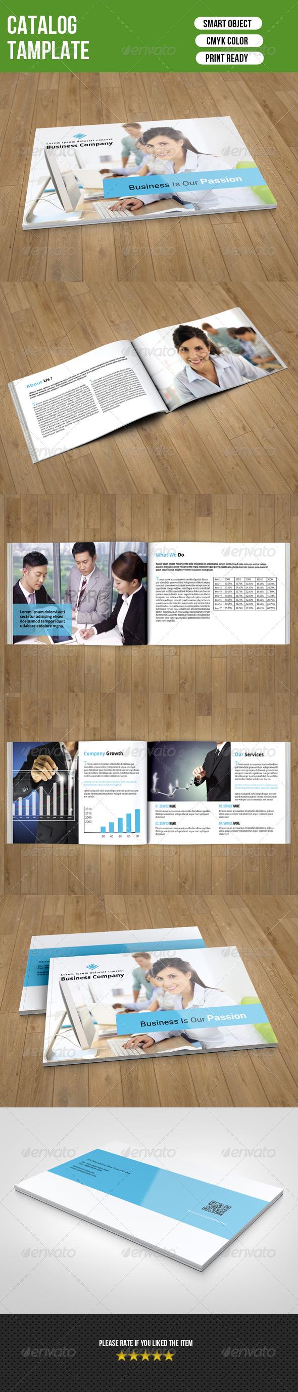 GraphicRiver Business Catalog 7614079